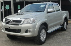 2014 2015 New Toyota Hilux Vigo Champ Thailand in Silver